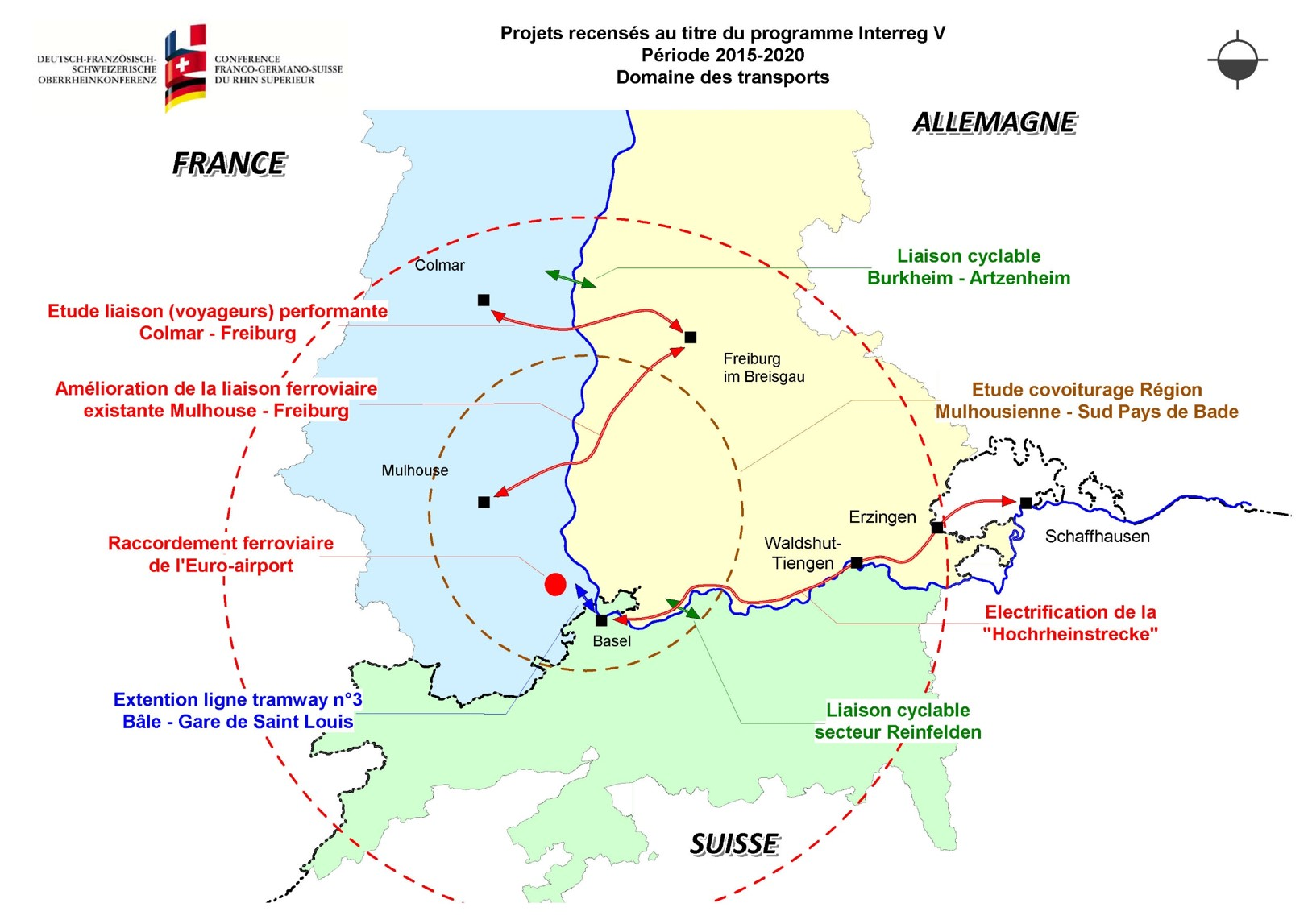 Carte du GT Transport