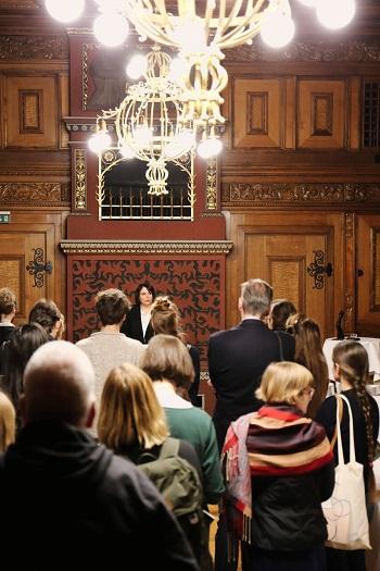 Empfang junger Kunstschaffender durch die ORK Präsidentin - Präsidialdepartement Basel-Stadt