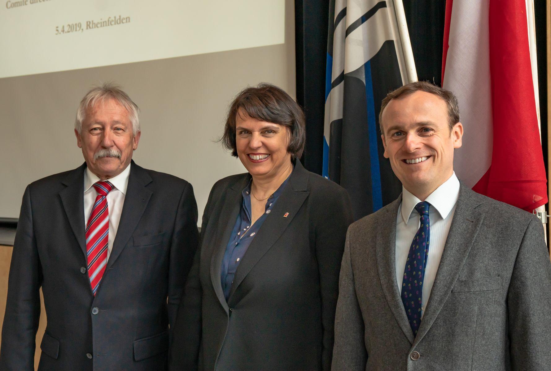 Delegationsleiter ORK Präsidiusm 5.4.2019 in Rheinfelden (CH)